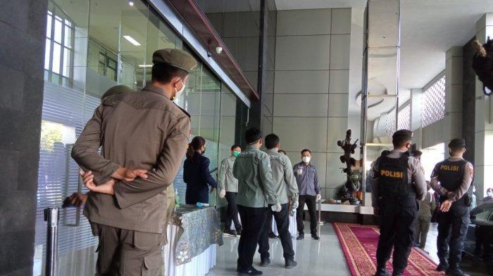 Pelantikan Bupati dan Wakil Bupati Malinau di Jaga Ketat, Tak Ada Undangan Tidak Boleh Masuk