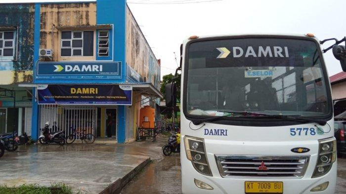 Larangan Mudik Lebaran Idul Fitri 1442 H, DAMRI Hentikan Rute Tanjung Selor Kaltara - Berau Kaltim