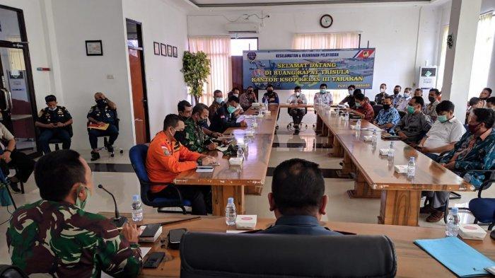 KSOP Tarakan Gelar Rakor Soal Pengamanan Angkutan Laut Jelang Nataru, Singgung Penyebaran Covid-19