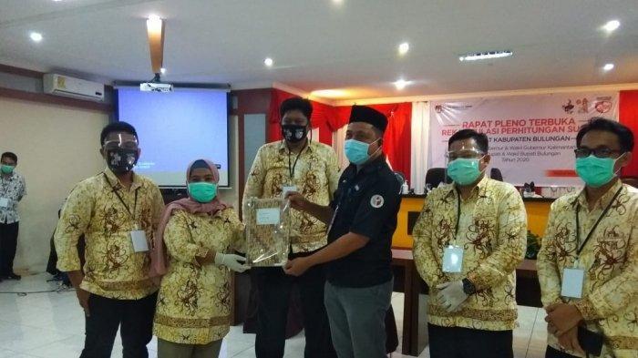 KPU Bulungan Rampung Gelar Rapat Pleno Rekapitulasi Kabupaten, Syarwani-Ingkong Ala Unggul