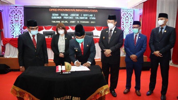 Sertijab Zainal A Paliwang - Yansen TP, Ketua DPRD Kaltara Sambut Baik Ajakan Mengenakan Batik