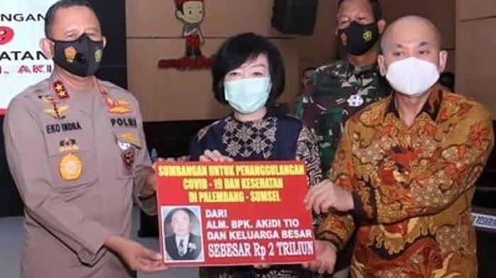 Kenal Mendiang Akidi Tio, Reaksi Kapolda Sumsel Soal Prank Sumbangan Rp 2 Triliun Heriyanti