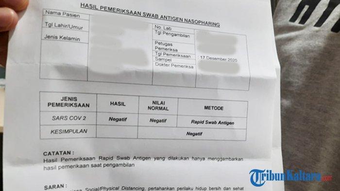 Harga Rapid Test Antigen dan PCR, Jadi Syarat Wajib Masuk ke Jakarta, Bali, dan Jawa Tengah