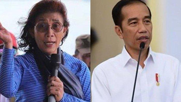 Cuitan Twitter Jokowi Soal Covid-19 Disambut Susi Pudjiastuti, Minta Presiden Ajak Stop Hate Speech
