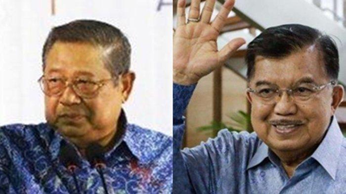 Blak-blakan Jusuf Kalla Beber Konflik dengan SBY, Pecah Kongsi di Pilpres 2009 Gegara Tersinggung