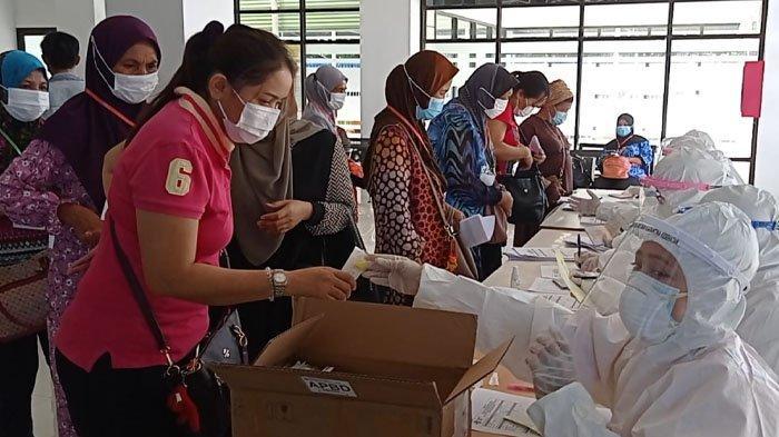 Hasil Swab PCR Ratusan PMI Asal Malaysia Satu Terkonfirmasi Positif Covid-19, Begini Nasibnya