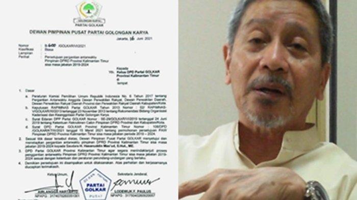 Soal Isu Pencopotan Makmur HAPK dari Ketua DPRD, Dewan Penasihat Golkar Kaltim Ngaku tak Tahu Menahu