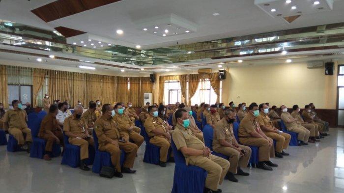 Syarwani silaturahmi seusai dilantik jadi Bupati Bulungan