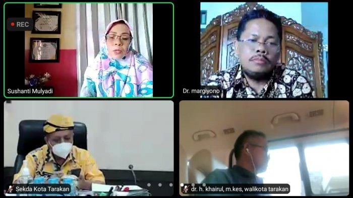 Talkshow Tribun Kaltara: Masyarakat Sehat, Pelaku UMKM di Tarakan Bangkit: Ini Penjelasan Margiyono