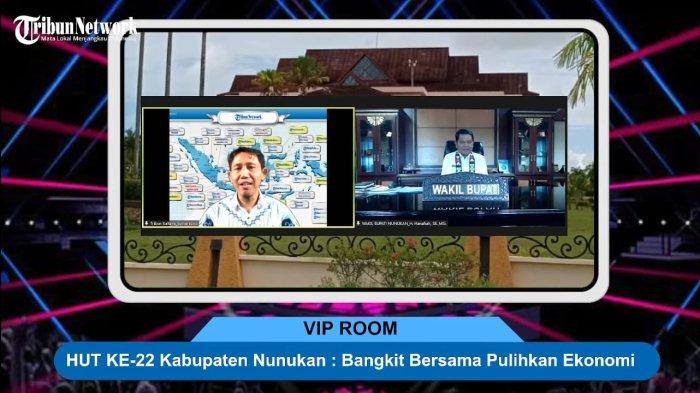 Talkshow TribunKaltara, Wabup Nunukan Hanafiah: Tak Mudah Tangani Covid-19 di Perbatasan RI-Malaysia