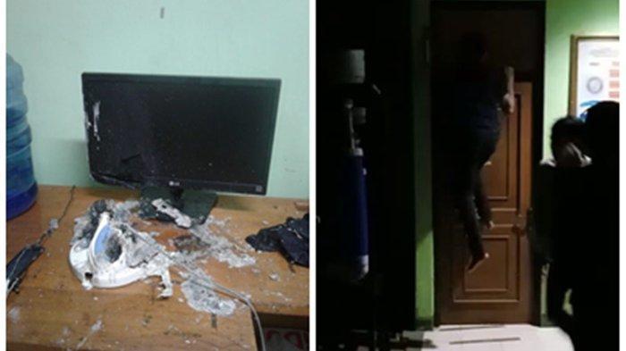 Diduga Kipas Konslet, Ruangan Lab Jurnal FPIK Universitas Borneo Tarakan Nyaris Hangus Terbakar