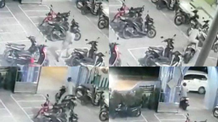 Waspada! Maling Merajalela, Aksi Cepat Pencuri Motor di Samarinda Terekam CCTV, Polisi Beritahu ini