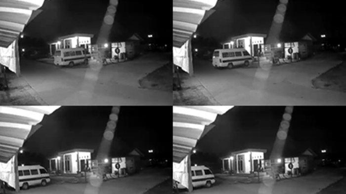 VIRAL di Medsos Ambulans Jenazah Mundur Tanpa Pengemudi di Samarinda Terekam CCTV, Sopir Sebut ini