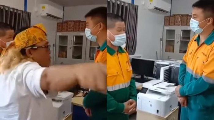 Detik-detik Anggota DPRD Kutim Marahi TKA Terekam Kamera, Minta Segera Tunjukan Visa atau Stop Kerja