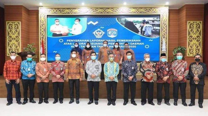 Pemerintah Kota Tarakan kembali memperoleh opini tertinggi yaitu Wajar Tanpa Pengecualian (WTP) dari Badan Pemeriksa Keuangan Republik Indonesia (BPK-RI).