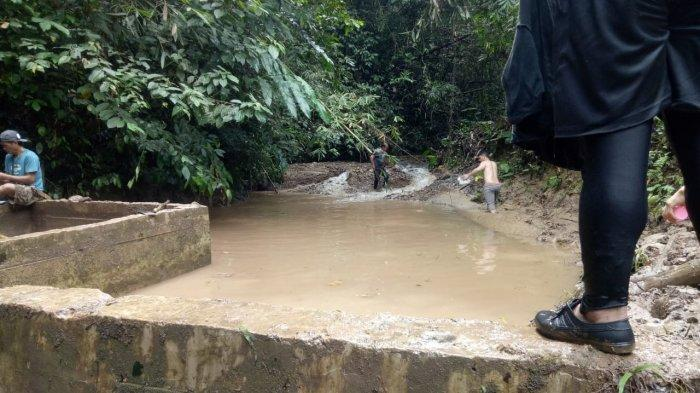 Tebing Longsor di Desa Wa'Yagung Nunukan, 31 Kepala Keluarga Terdampak, Kerugian Ratusan Juta Rupiah