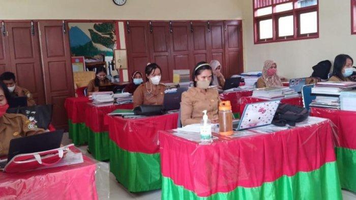 Hindari Kecurangan Pelaksanaan Ujian Sekolah, SDN 011 Malinau Kota Gunakan Format Soal Khusus