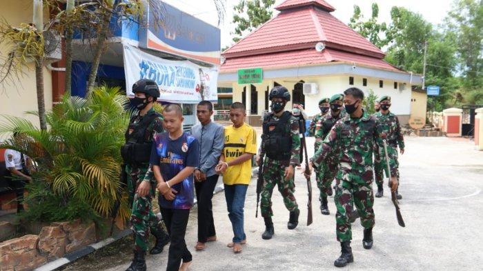 Anak Buah Jenderal Hadi Tjahjantodi Nunukan Ringkus 4 Pria Diduga Bandar Sabu, Ada Senpi Rakitan