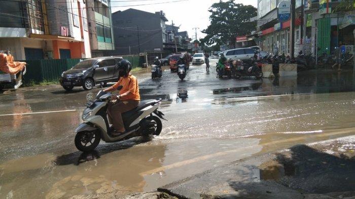 Super Blood Moon, Berdampak Beberapa Wilayah di Kota Samarinda Tergenang