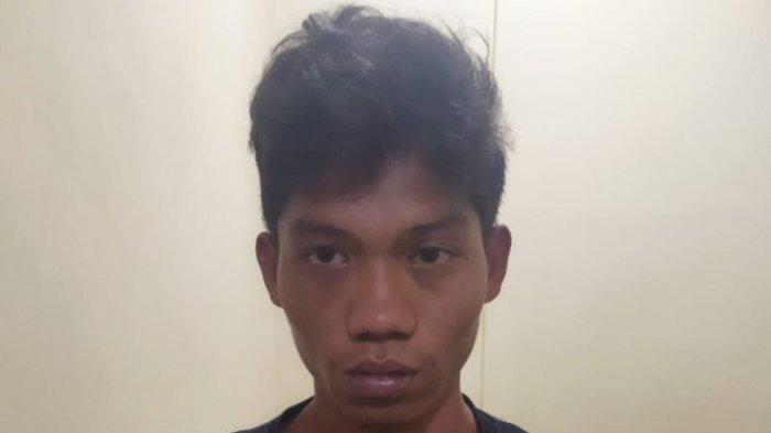 Amran beserta barang bukti sabu 12,588 Kg diamankan ke Mako Polres Nunukan, Minggu (29/8/082021)