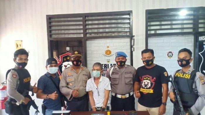 Polisi Gerebek Rumah Kakek 54 Tahun Simpan 59 Poket di Sangkulirang Kutai Timur, Ini Kronologisnya