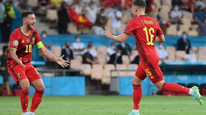 Thorgan Hazard Jadi Pahlawan, Antar Belgia Lawan Italia di Perempat Final Euro 2020, Portugal Merana