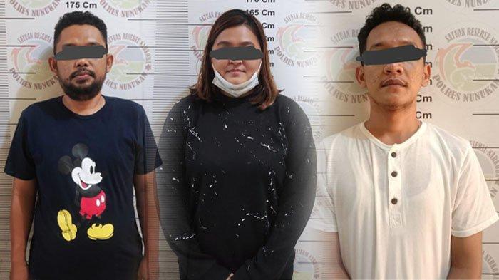 Sembunyikan Sabu dan Pil Ekstasi di Belakang Kandang Ayam, 3 Orang Ditangkap Polres Nunukan