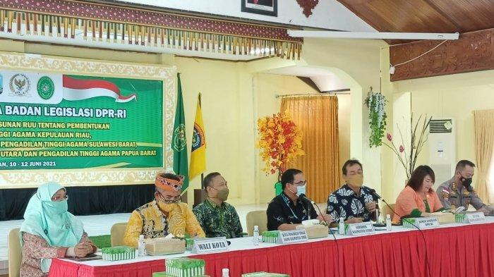 Bakal Miliki Pengadilan Tinggi Agama, Badan Legislasi DPR RI Sambangi Kaltara