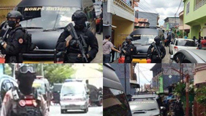 TERUNGKAP! Ternyata Begini Situasi Rumah Terduga Pelaku Bom Gereja Makassar saat Digeledah Gegana