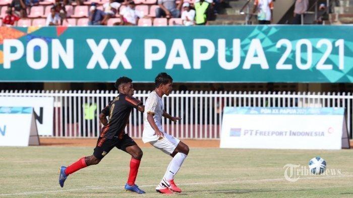 Link Live Streaming Final Sepak Bola PON Papua 2021: Papua vs Aceh, Kick-off Pukul 15.30 WITA