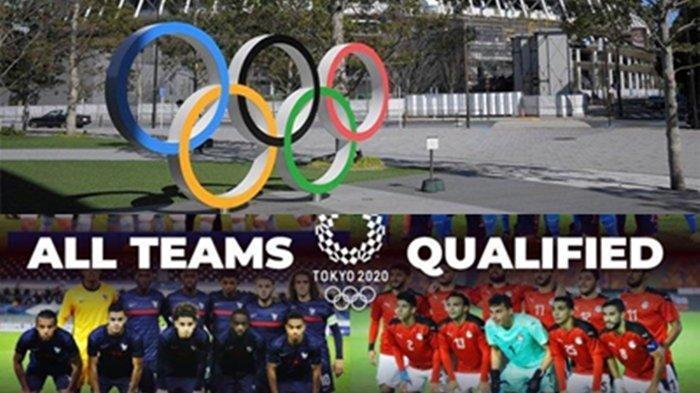 LENGKAP SAMPAI FINAL! Jadwal Sepak Bola Putra Olimpiade Tokyo 2021, Tayang di TVRI, Indosiar & Vidio