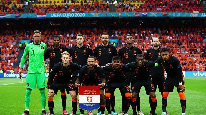 2 Gol Makedonia Utara Dianulir, Belanda Hajar Goran Pandev Cs 3-0, Mulus ke 16 Besar Euro 2020