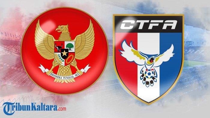 Live Streaming Timnas Indonesia vs Taiwan di Indosiar, Penyerang Mandul Arema FC Starter, Skor 0-0