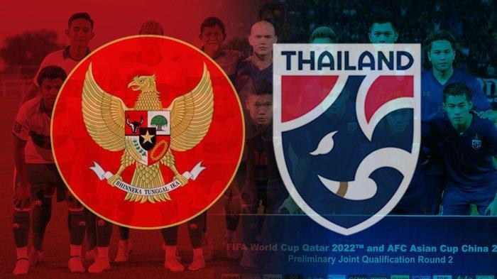 Jadwal Live Streaming Timnas Indonesia vs Thailand, Tayang di SCTV dan Mola TV Pukul 23.45 Wib