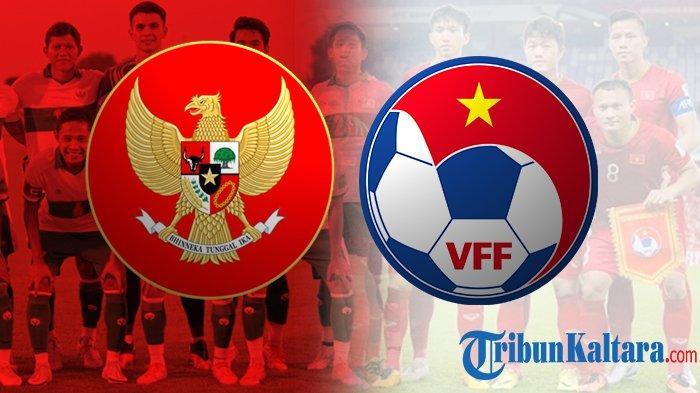 Siaran Langsung Timnas Indonesia vs Vietnam, Kans Raih Kemenangan Perdana, Pukul 23.45 Wib di SCTV