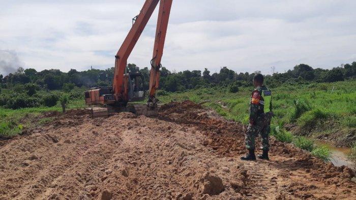 Kodim 0907/Tarakan Terus Kebut Pembangunan Jalan Pra TMMD Ke-109, Dandim : Itu Prioritas Utama