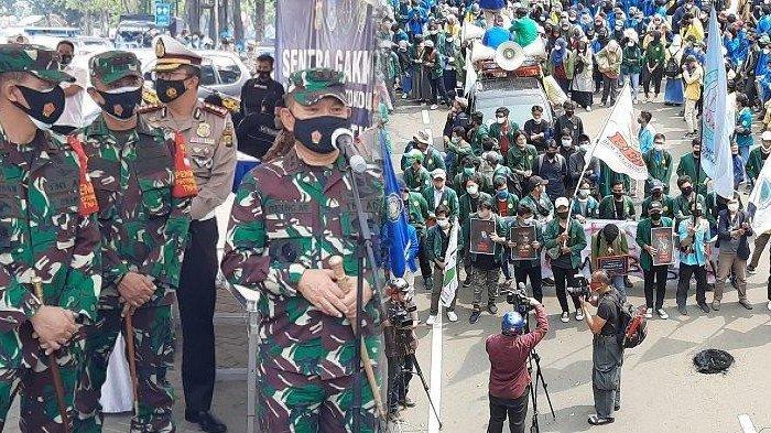 TNI Antar Pulang Mahasiswa Usai Demonstrasi di Patung Kuda Jakarta, Puluhan Pelajar Diamankan Polisi
