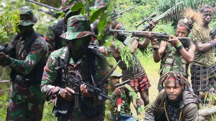 Dipecat dari TNI, Senaf Soll Kini Gabung KKB Papua, Pernah Bunuh Staf KPU, Polisi Sebut Frustasi