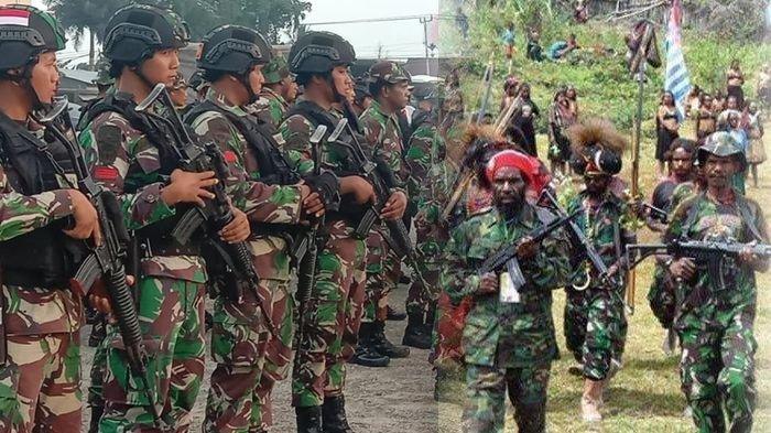 Anggota KKB Papua Dibekuk TNI-Polri saat Kirim Makanan ke Joni Botak, Pernah Tembaki Mobil Brimob