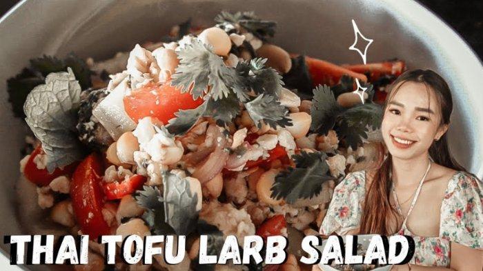 Resep Tofu Larb Salad Ala Jesselyn Pemenang MasterChef Indonesia Season 8,Cocok untuk Vegetarian