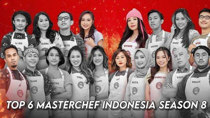 Bocoran MasterChef Indonesia Sabtu 14 Agustus 2021, Top 6 Kaget Dengar Tantangan dari Chef Renatta