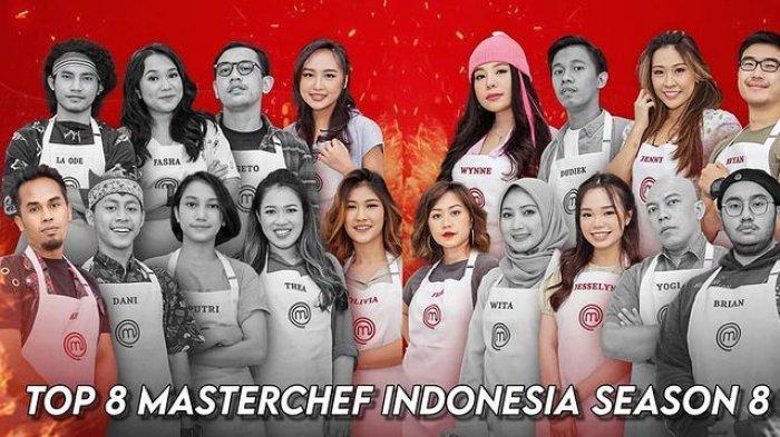 Daftar Total Pressure Test Top 8 MasterChef Indonesia: Olivia 5 Kali, Bryan dan Jenny Baru Sekali