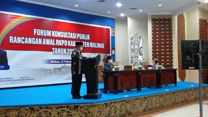 Pembahasan RKPD 2022, Plt Bupati Malinau Topan Amrullah Sebut Menyesuaikan Visi Misi Paslon Terpilih
