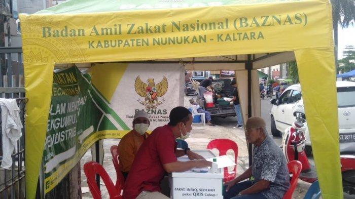 H-5 Idul Fitri 1442 H, Baznas Nunukan Kumpulkan Zakat Capai Rp 400 Juta, Target 2021 Rp 5,5 Miliar