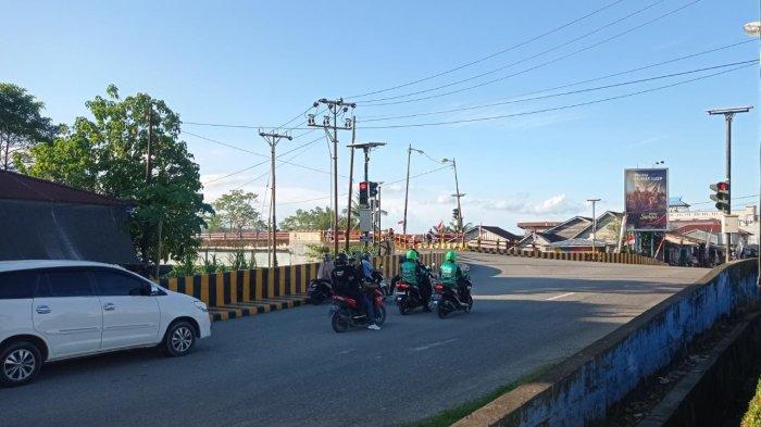 Layanan moda transportasi online KU-Jek Indonesia mulai beroperasi di wilayah Kecamatan Malinau Kota dan sekitarnya, Kabupaten Malinau, Provinsi Kalimantan Utara, Senin (2/8/2021).