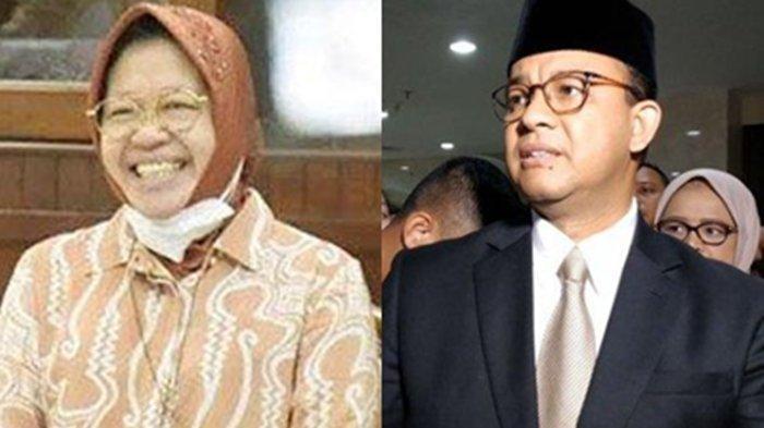 Risma Bakal Gigit Jari, PDIP Dukung Anies Baswedan di Pilgub DKI Jakarta? Sikap Gerindra Terlihat