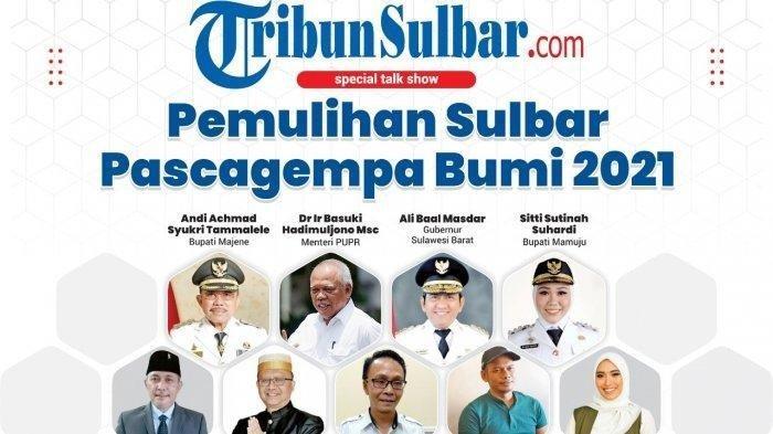 Menteri PUPR dan Gubernur Sulbar Pembicara Webinar Tribun-Sulbar.com, Portal ke-53 Tribun Network