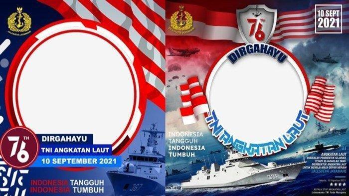 Link Twibbon HUT ke -76 TNI AL, Bisa Jadi Ucapan untuk Dibagikan ke Media Sosial
