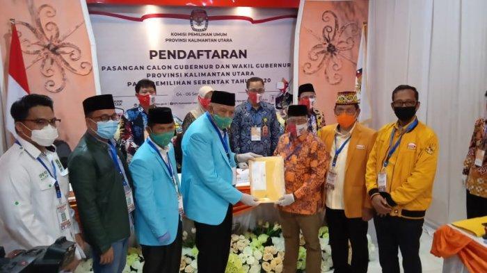 Ketua KPU Kaltara Suryanata Al Islami Sudah Terima Dokumen Perbaikan Bacagub Kaltara Udin-Undunsyah