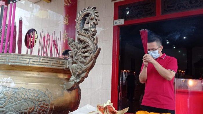 Ibadah di Kleteng Toa Pek Kong Sepi, Ketua Makin Tarakan Ayi Diyanto Sebut Efek Pandemi Covid-19
